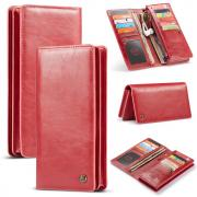 """Taltech CASEME 012 Universal Wallet Cover for Smartphone 4""""-6.5"""" - Red"""