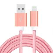 SiGN USB Cable with Lightning for iPhone & iPad Purple/Nylon, 2m