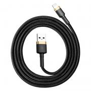 Baseus Kevlar USB-Cable with Lightning 2A 1 m - Gold/Black
