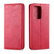 Taltech AZNS Retro Wallet Cover for Samsung Galaxy S20 Ultra - Red
