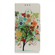 Taltech Wallet Cover for OnePlus 9 Pro - Butterfly/Flower/Tree