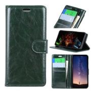 Crazy Horse Cover for Samsung Galaxy S10 - Green