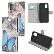 Taltech Wallet Cover for Samsung Galaxy A41 - Butterfly