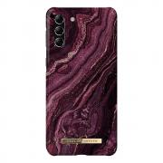 iDeal of Sweden iDeal Fashion Case for Samsung Galaxy S21 Plus - Golden Plum