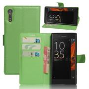 Litchi Cover for Sony Xperia XZs - Green