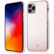 Celly Celly Sparkling Case for iPhone 11 - Pink
