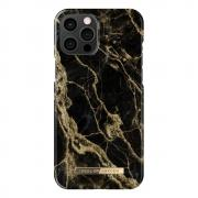 iDeal of Sweden iDeal Of Sweden Fashion iPhone 12 Pro Max Case - Golden Smoke Marble