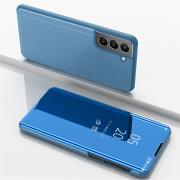 Taltech View Window Mirror Cover for Samsung Galaxy S21 FE - Blue
