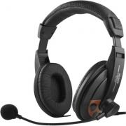 DELTACO DELTACO headphones Black