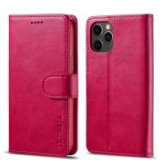 Taltech LC.IMEEKE Wallet Cover for iPhone 12/12 Pro - Red