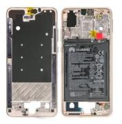 huawei P20 Middle Frame Pink