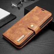 Taltech DG.MING 2-in-1 Wallet Cover for Samsung Galaxy S21 Plus 5G - Brown
