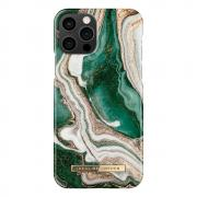 iDeal of Sweden iDeal Fashion Case for iPhone 12/12 Pro - Golden Jade Marble