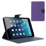 Mercury Fancy Diary iPad Mini Cover- Purple