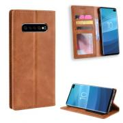 Vintage Cover for Samsung Galaxy S10 Plus - Brown