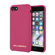 Karl Lagerfeld Karl Lagerfeld Gold Logo Case for iPhone 7 & 8 - Pink