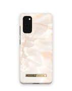 iDeal of Sweden iDeal Fashion Case for Samsung Galaxy S20 - Rose Pearl Marble
