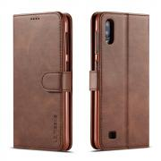 Taltech LC.IMEEKE Wallet Cover for Samsung Galaxy A10 - Coffee