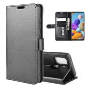Taltech Wallet Cover for Samsung Galaxy A21s - Black