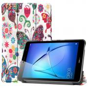 Taltech Cover for Huawei MatePad T8 - Butterfly Flowers