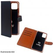 Celly Celly Wallet Cover for iPhone 12 Pro & iPhone 12 - Black