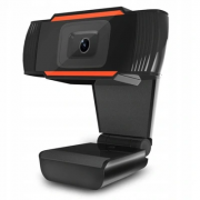 Web Camera with Microphone 1080P HD, USB - Black