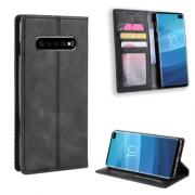 Vintage Cover for Samsung Galaxy S10 Plus - Black