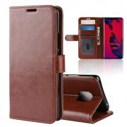 Taltech Crazy Horse Cover for Huawei Mate 20 Pro - Brown