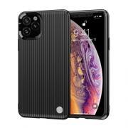 Taltech Ribbed Case for iPhone 11 Pro Max - Black