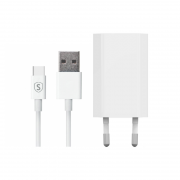 SiGN SiGN USB-C Charger 1A, 1m - White