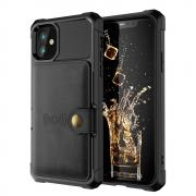 Taltech Kickstand Case for iPhone 12 & 12 Pro - Black