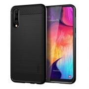 Taltech MOFI Carbon Fiber design Case for Samsung Galaxy A50 - Black