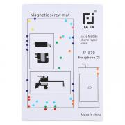 Taltech Magnetic Screws Mat for iPhone XS