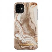 iDeal of Sweden iDeal Fashion Case for iPhone 11 - Golden Sand Marble