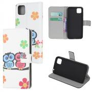 Taltech Wallet Cover for Huawei Y5p - Owls