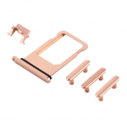iPhone 8 Sim Card Holder & Side Buttons - Rosegold