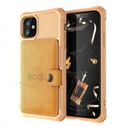 Taltech Kickstand Case for iPhone 12 & 12 Pro - Gold