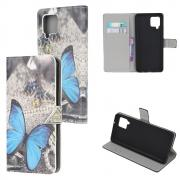 Taltech Cover for Samsung Galaxy A42 - Blue Butterfly