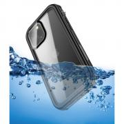 Taltech Waterproof Case IP67 for iPhone 12/12 Pro - Black