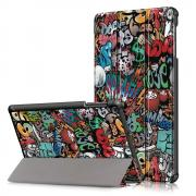 Taltech Tri-fold Cover for Samsung Galaxy Tab A 10.1 2019 - Graffiti