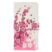 Taltech Wallet Cover for Huawei P30 Lite - Flowers