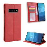 Vintage Cover for Samsung Galaxy S10 - Red