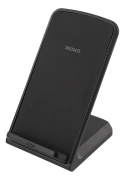 DELTACO Deltaco Wirelesst Charge Stand with Fast Charging 10W - Black