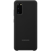 Samsung Samsung Silicone Cover for Samsung Galaxy S20 - Black