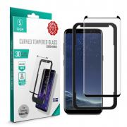 SiGN SiGN 3D Screen Protector Tempered Glass for Samsung Galaxy S8 Plus
