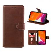 Taltech ENKAY iPhone 13 Pro Max wallet cover- Brown