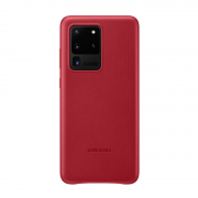 Samsung Samsung Leather Cover for Samsung Galaxy S20 Ultra - Red