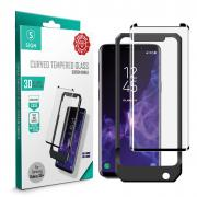SiGN SiGN 3D Screen Protection Tempered Glass for Samsung Galaxy S9 Plus inc Montage