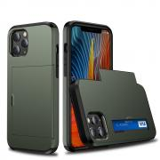 Taltech Case with Card Holder for iPhone 12 /12 Pro - Green