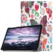 Cover for Samsung Galaxy Tab A 10.5 - Butterflies & Flowers
